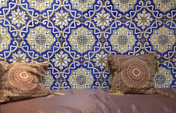 μαροκινό δωμάτιο διαβίωση στοκ φωτογραφίες
