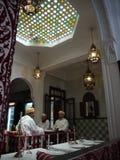 μαροκινό εστιατόριο Στοκ Εικόνες