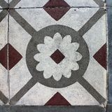 Μαροκινό διακοσμητικό κεραμίδι ύφους Στοκ Εικόνες
