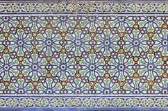 Μαροκινό κεραμίδι Zellige Στοκ εικόνες με δικαίωμα ελεύθερης χρήσης
