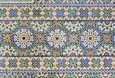 Μαροκινό κεραμίδι Zellige Στοκ Εικόνες