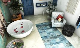 Μαροκινό λουτρό Στοκ Φωτογραφίες