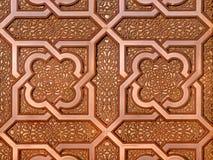 Μαροκινό μέταλλο Arabesque Στοκ Εικόνες