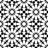 Μαροκινό μωσαϊκό άνευ ραφής απεικόνιση αποθεμάτων