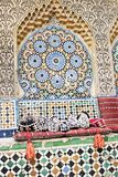 μαροκινό μωσαϊκό Στοκ Φωτογραφία