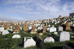 Μαροκινό νεκροταφείο, Rabat Στοκ Εικόνες