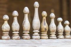 Μαροκινό ξύλινο ντεκόρ Στοκ Φωτογραφίες