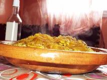 Μαροκινό πιάτο: Rfissa Στοκ εικόνα με δικαίωμα ελεύθερης χρήσης
