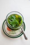 Μαροκινό τσάι μεντών Στοκ Εικόνα