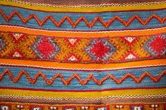 Μαροκινό υπόβαθρο ταπήτων Berber Στοκ Φωτογραφίες