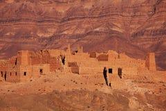 μαροκινό χωριό Στοκ Εικόνες