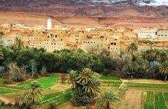 μαροκινό χωριό Στοκ φωτογραφία με δικαίωμα ελεύθερης χρήσης