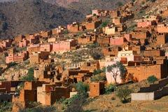 μαροκινό χωριό Στοκ Φωτογραφίες