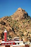μαροκινό χωριό Στοκ Φωτογραφία