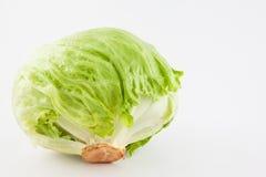 Μαρούλι Lactuca Crisphead sativa Στοκ Εικόνες