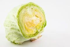 Μαρούλι Lactuca Crisphead sativa Στοκ Εικόνα