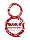 8 Μαρτίου - ημέρα των διεθνών γυναικών Στοκ φωτογραφία με δικαίωμα ελεύθερης χρήσης