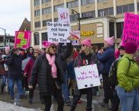 Μαρτίου Κοννέκτικατ γυναικών Χάρτφορντ Στοκ Φωτογραφίες