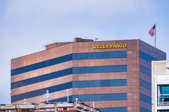 19 Μαρτίου 2019 Σαν Ντιέγκο/ασβέστιο/ΗΠΑ - κτίριο γραφείων Fargo φρεατίων στο στο κέντρο της πόλης Σαν Ντιέγκο στοκ φωτογραφίες