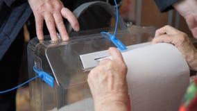 18 Μαρτίου 2018, Mtsensk, Ρωσία Εκδοτικός - εκλογή του Προέδρου της Ρωσικής Ομοσπονδίας Εκλογές στη Ρωσία φιλμ μικρού μήκους