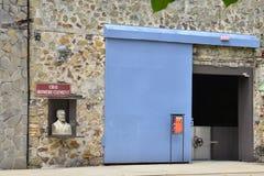 Μαρτινίκα, γραφική κατοικία επιεικής σε LE Francois μας Στοκ Φωτογραφία