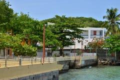 Μαρτινίκα, γραφική πόλη Sainte Anne στις Δυτικές Ινδίες Στοκ Φωτογραφίες