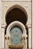 Μαρόκο λεπτομέρεια Hassan ΙΙ της Κασαμπλάνκα μουσουλμανικό τέμενος Στοκ εικόνες με δικαίωμα ελεύθερης χρήσης