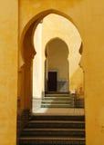 Μαρόκο, Meknes, ισλαμικές αψίδες Στοκ εικόνες με δικαίωμα ελεύθερης χρήσης