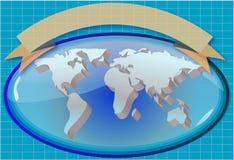 μας για να χαιρετίσει τον κόσμο ελεύθερη απεικόνιση δικαιώματος