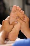 μασάζ ποδιών Στοκ Φωτογραφίες