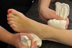Μασάζ ποδιών Wellness Στοκ φωτογραφία με δικαίωμα ελεύθερης χρήσης