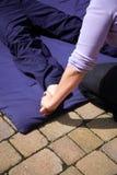 μασάζ Ταϊλανδός ποδιών Στοκ εικόνες με δικαίωμα ελεύθερης χρήσης