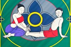 μασάζ Ταϊλανδός Στοκ εικόνες με δικαίωμα ελεύθερης χρήσης