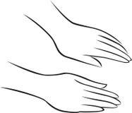 μασάζ χεριών Στοκ Φωτογραφία