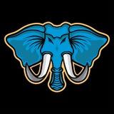 Μασκότ ελεφάντων Στοκ εικόνα με δικαίωμα ελεύθερης χρήσης