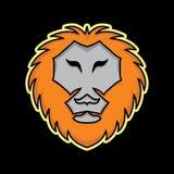 Μασκότ λιονταριών Στοκ φωτογραφία με δικαίωμα ελεύθερης χρήσης