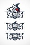 Μασκότ καρχαριών Στοκ Εικόνες