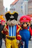 Μασκότ παρέλαση-Νυρεμβέργη 2016 του Toon Walk†« Στοκ Εικόνες