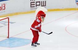 Μασκότ της ομάδας Spartak στην πύλη Στοκ φωτογραφία με δικαίωμα ελεύθερης χρήσης