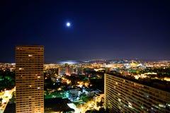 Μασσαλία, άποψη νύχτας Στοκ εικόνες με δικαίωμα ελεύθερης χρήσης