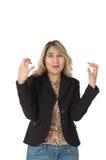 ματαιωμένη γυναίκα Στοκ εικόνα με δικαίωμα ελεύθερης χρήσης