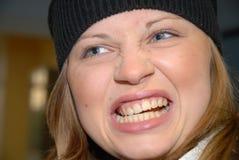 ματαιωμένη γυναίκα Στοκ Εικόνα