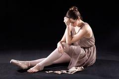 Ματαιωμένος χορευτής στοκ εικόνες με δικαίωμα ελεύθερης χρήσης
