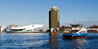 ΜΑΤΙ, μουσείο ταινιών του Άμστερνταμ Στοκ φωτογραφίες με δικαίωμα ελεύθερης χρήσης