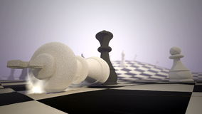 Ματ σκακιού απόθεμα βίντεο