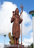 Μαυρίκιος Άγαλμα Shiva στο μεγάλο ναό Bassin Στοκ Φωτογραφίες