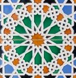 Μαυριτανικά κεραμίδια Στοκ Φωτογραφία