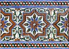 Μαυριτανικά κεραμικά κεραμίδια Στοκ Εικόνες
