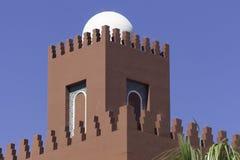 Μαυριτανική αρχιτεκτονική στη νότια Ισπανία Στοκ Εικόνα