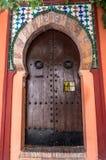 Μαυριτανική πόρτα Στοκ φωτογραφία με δικαίωμα ελεύθερης χρήσης